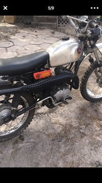 black and gray standard motorcycle New Port Richey, 34653