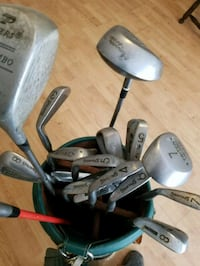 Complete set of Golf clubs in bag w balls Myrtle Beach, 29579