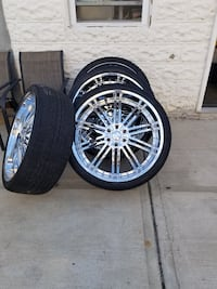 26in rims and tires  New York, 11217