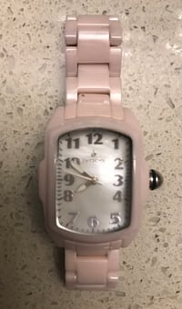 Authentic invicta ceramic ladies watch ~ baby pink ~retails $1000+  would make a great christmas gift Surrey, V4N 6A2