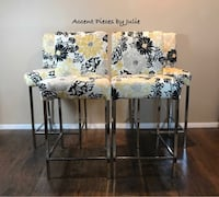 white and black floral wooden table Gaithersburg, 20877