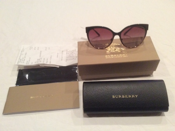 f2ed82d558 Used Women s Authentic Burberry Copper pink gold sunglasses NEW for sale in  Clifton