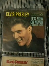 Elvis 45s picture sleeve w/ records The Villages, 32162