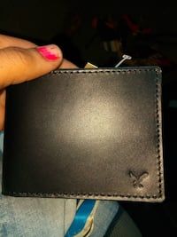 black American Eagle leather bi-fold wallet Beaumont, 77702
