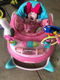 baby's pink and blue Minnie Mouse walker Los Angeles, 91405