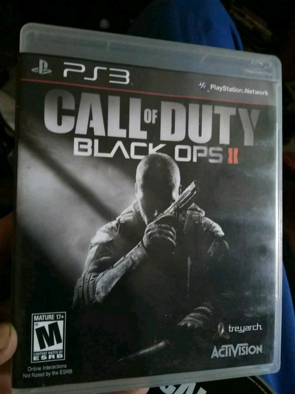 Sidste nye Used Call of duty Black Ops 2 playstation 3 game. for sale in CI-81