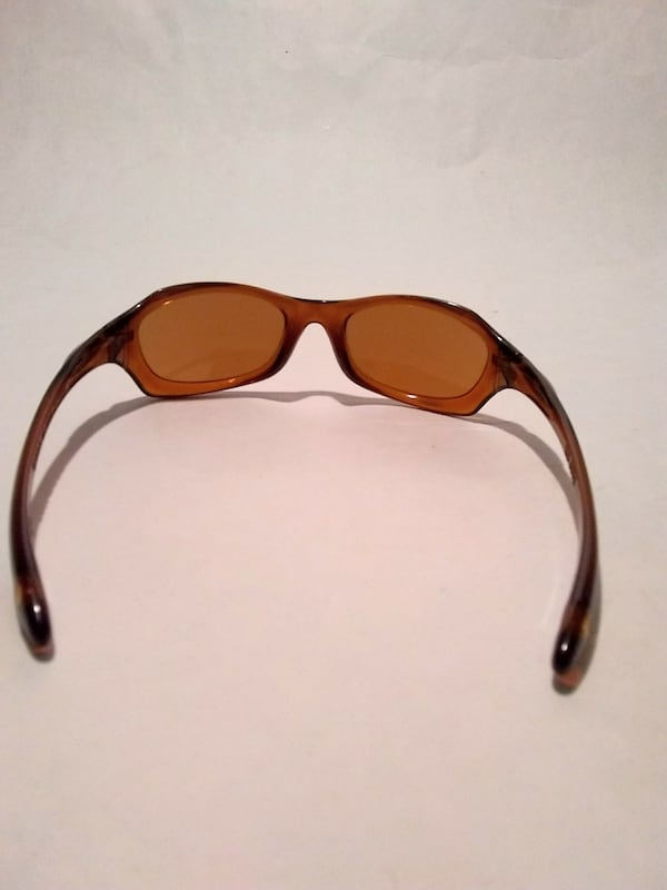 Oakley Xs Youth Kids Brown Wrap Sunglasses 8