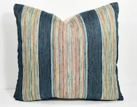 Colorful stripped pillow 20x20 new Corona, 92880
