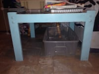 Need gone blue table with glass top Victoria, V8N 1E6