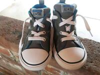 Boys toddler converse no time to lace street gray  Hanford, 93230