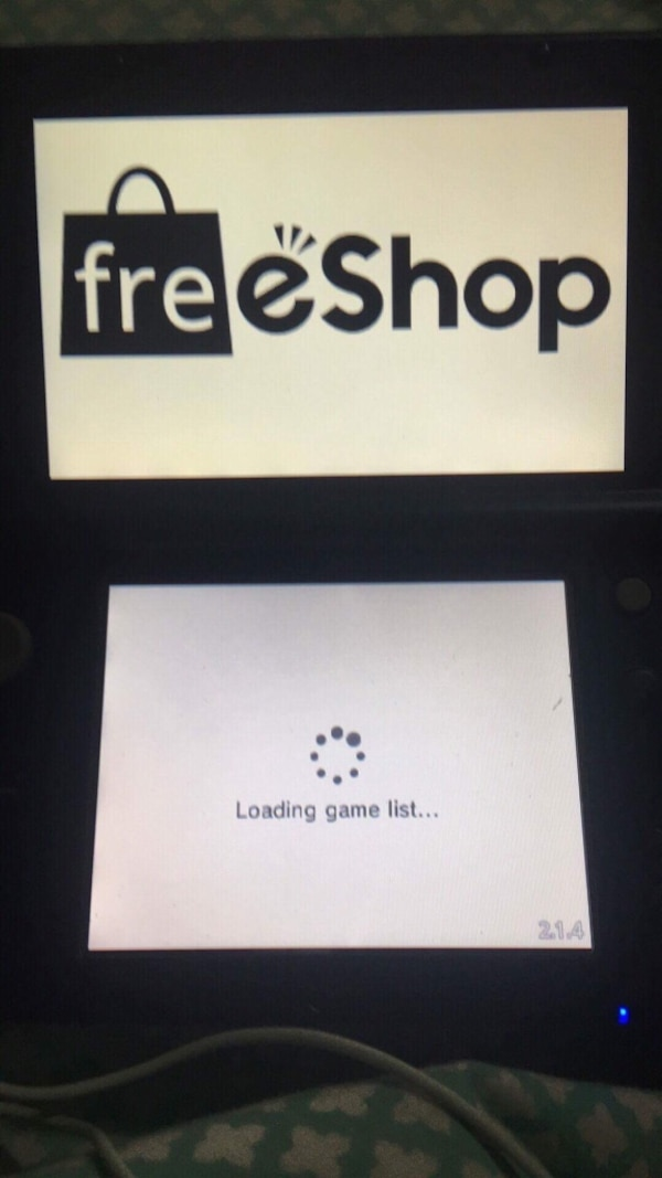 3DS hacks (A9LH+Luma3DS+Freeshop)