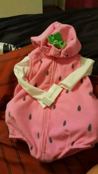 strawberry costume for Baby Burke, 22015