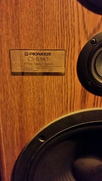 Pioneer 3 way floor speakers!!