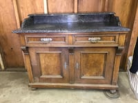 Vintage Buffet. Needs some TLC but very solid piece.  Arroyo Grande, 93420