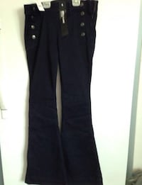 Navy flare pants  Winnipeg, R3E 1A1