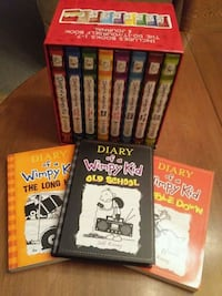 Diary of a Wimpy Kid Book Set