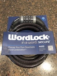 Wordlock Brand New Bike Lock Manassas, 20112