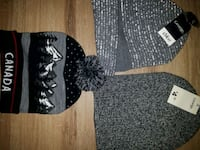 Winter hats new with tags one size fits all Edmonton, T5H 0X8