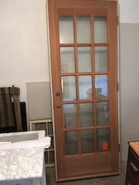 Exterior insulated french door ATLANTA