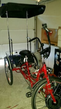 black and red adult trike Tempe, 85282