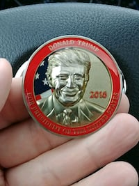 Collectible Donald Trump for president coin Mechanicsburg, 17050