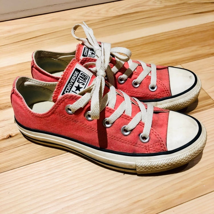 Coral CONVERSE All Star Sneakers