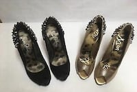 4 pairs. Sam Edelman woman's shoes. 7.5 and 8.5 Toronto, M8Z 5A2