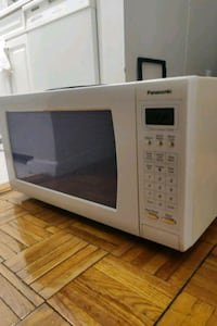 white and black microwave oven New York, 10036