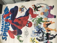 Spider-Man poster/Great Addition Drawn by the Legendary John Romina