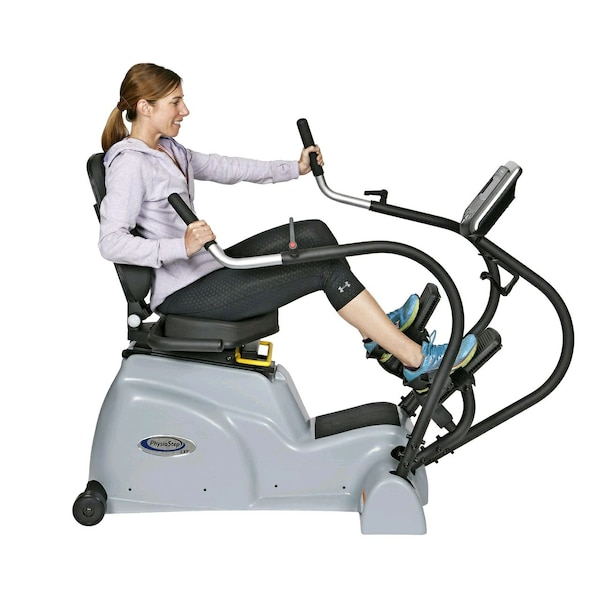 physiostep lxt recumbent linear cross trainer by