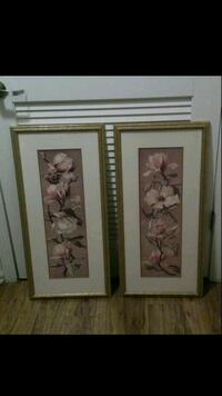 """Decor wall pictures (15""""x31"""")... $45 for both Nashville, 37013"""