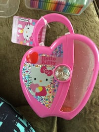 pink Hello Kitty plastic case 474 km