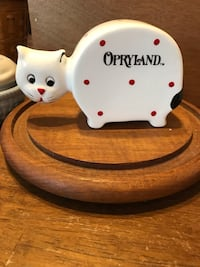 Cute ! Kitty porcelain collectors bank Gainesville, 20155