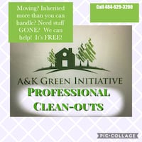 clean outs!  You need items gone?  We can help! Lehighton