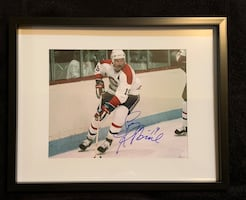 Larry Robinson Signed and framed photo