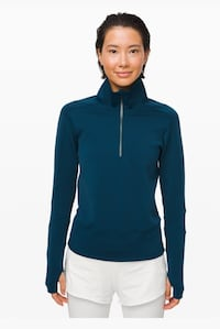 NEW Ladies Lululemon Run to Reset 1/2 Zip - size L Mississauga, L4Z