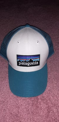 white and blue Supreme fitted cap Frederick, 21704