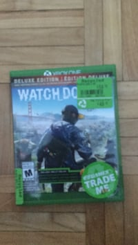 Watch Dogs Xbox One game case