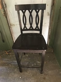 rectangular brown wooden table with chair Springtown, 18055