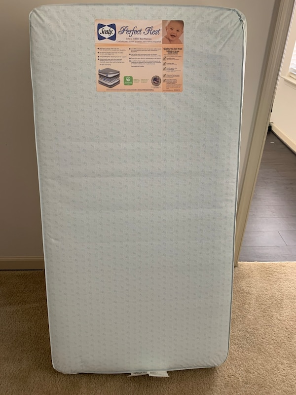 Sealy PerfectRest crib mattress