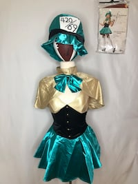 Tea Party Hostess Women's Sexy Halloween Costume size XS Los Angeles, 90035