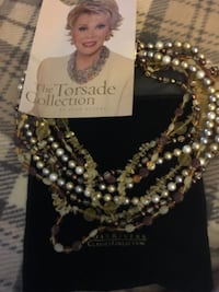 The torsade collection beaded multi layered necklace, Joan rivers Ottawa, K4A 2P8