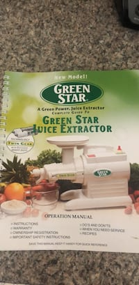 Green Star Juicer Beverly, 01915