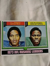 Baseball card 1973. Very good condition Piermont, 10968