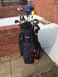 golf clubs, men's Datrek bag Indianapolis, 46219