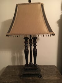 black and white table lamp Orlando