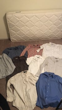 Men's dress shirts size XL($10 per)($60 for all) Columbus, 31909