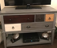 tv stand / credenza solid wood 48 inches long 36 inches high 19 inches deep Barrie, L4N 6A1