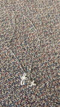 Silver pendant silver chain necklace Hagerstown, 21740