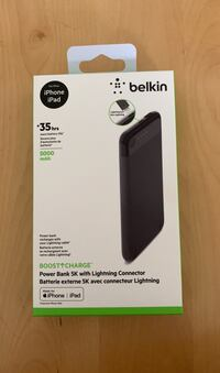 Belkin Power Bank 5K with Lightning Connector Rockville, 20852